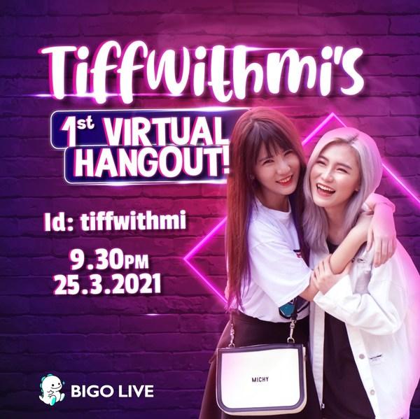 Watch TiffwithMi's First Virtual Hangout On Bigo Live!