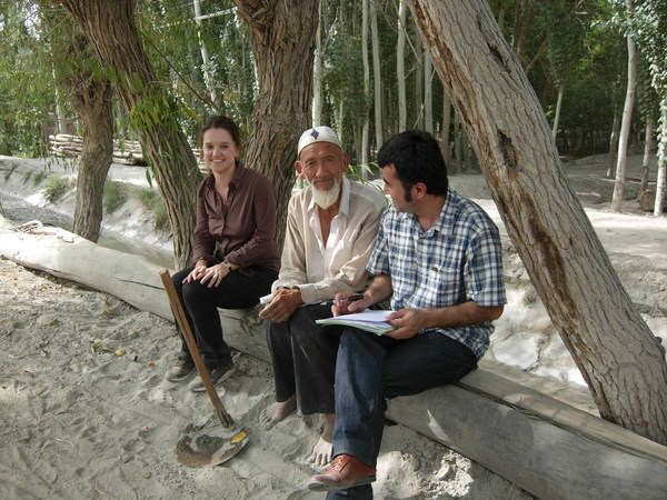 Dr Alessandra Cappelletti (left), of Xi'an Jiaotong-Liverpool University, was a researcher for the Poverty Alleviation Programme Xinjiang in 2011/2012.