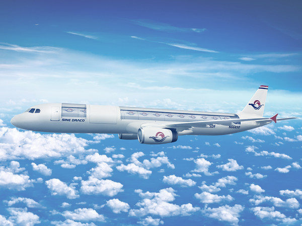 Sine Draco A321-200 SDF Rendering