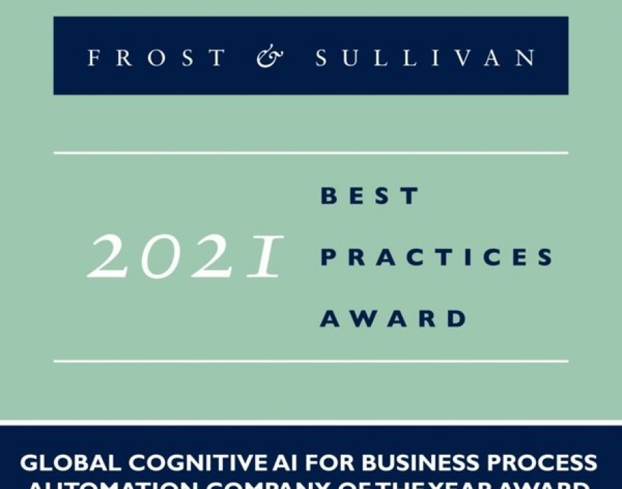 Beyond Limits Recognized by Frost & Sullivan with 2021 Global Company of the Year Award: Cognitive AI Driving Operational Efficiencies