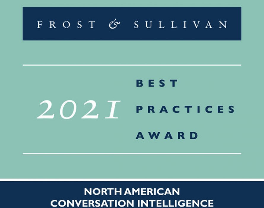 Chorus Lauded by Frost & Sullivan for Reimagining CRM Systems for Sales Teams with Its AI-based Conversation Intelligence Platform