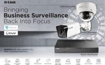 D-Link's New Vigilance Series Solutions Boast Reliable, High-Resolution Business Surveillance