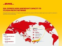 DHL Flight Infographic
