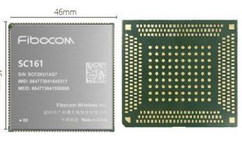 Fibocom Launches 5G Smart Module SC161 Based on Qualcomm QCM6350