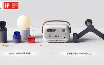 Global Technology Leader AUKEY Continues Winning Streak with Multiple 2021 iF and Red Dot Design Awards