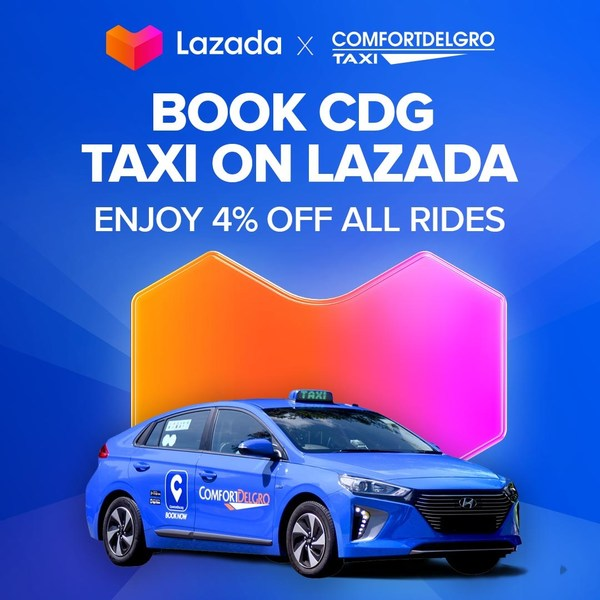 Lazada and ComfortDelGro Taxi Announce In-app Partnership Offering Taxi Bookings On Leading Shopping and Lifestyle Platform