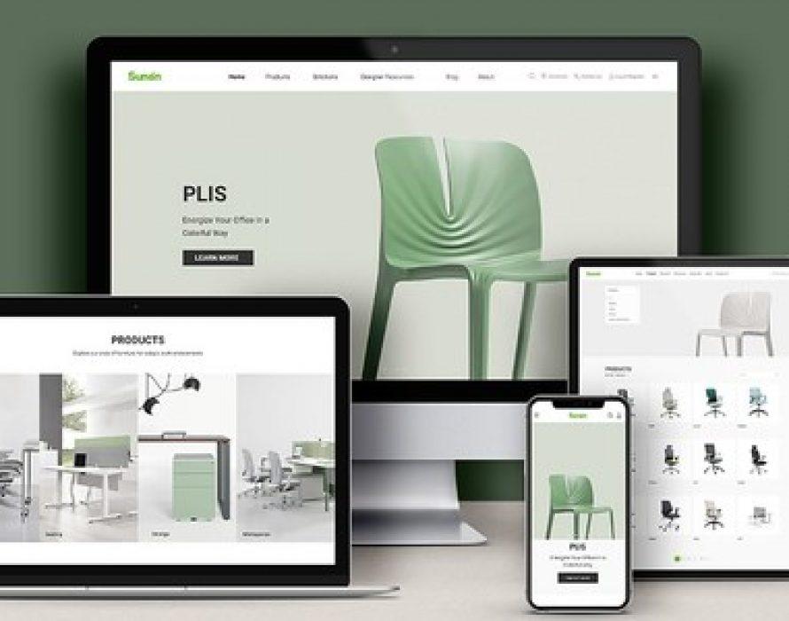 Modern Workspace Furniture Provider, Sunon, Launches New-look Website