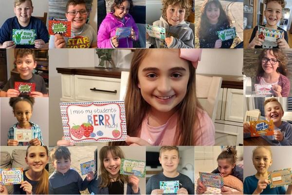 One million Amanda Creation smiles received from their teachers.