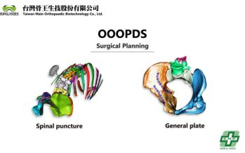 OOOPDS – a surgical planning software received TFDA Class-II medical device certification developed by Taiwan Main Orthopaedic Biotechnology Co., Ltd.
