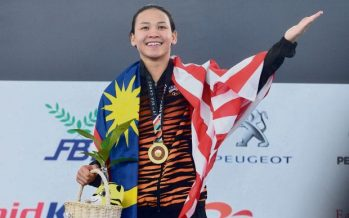 Muhyiddin congratulates Pandelela on winning gold in World Cup