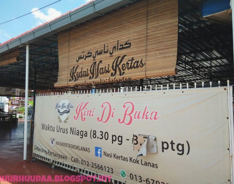 'DEADPOOL' serves authentic Kelantanese dishes at Kedai Nasi Kertas