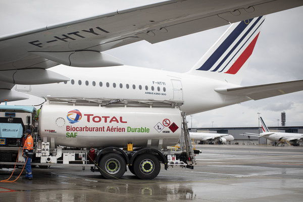Air France-KLM, Total, Groupe ADP and Airbus Join Forces to Decarbonize Air Transportation and Carry Out The First Long-Haul Flight Powered By Sustainable Aviation Fuel Produced in France