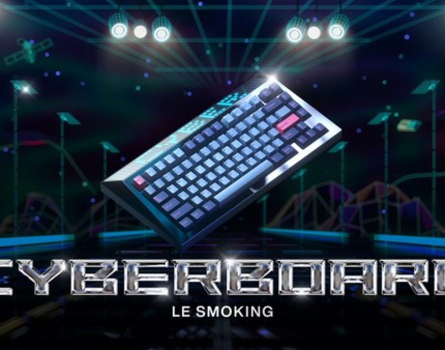 """Angry Miao releases its next-generation product in the CYBERBOARD series – """"CYBERBOARD Le Smoking"""""""
