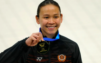 Agong congratulates Pandelela on winning gold in world cup
