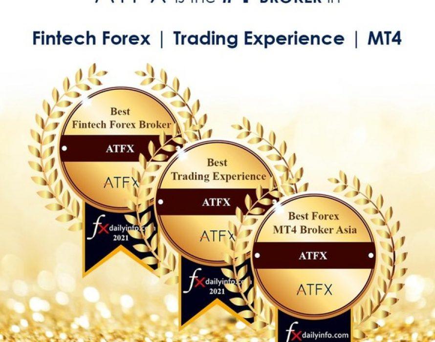 ATFX Wins 3 Awards at the Forex Brokers Awards 2021