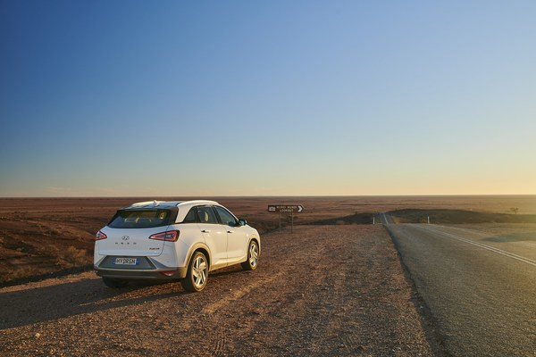 Hyundai NEXO Distance World Record