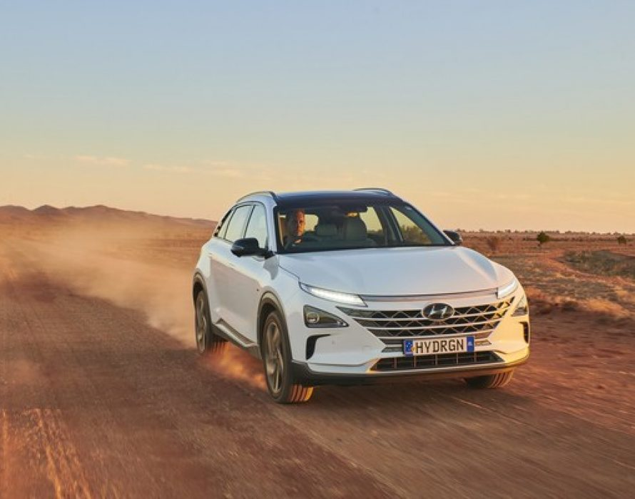Australian Hyundai NEXO breaks world distance record