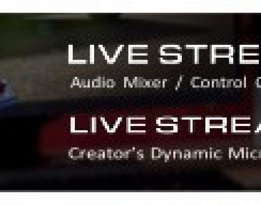 AVerMedia launches Live Streamer NEXUS & MIC 330, a 6-track audio mixer/creators control center and a dynamic XLR microphone