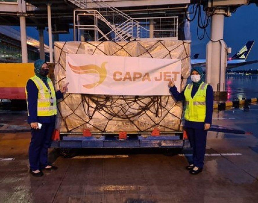 CapaJet Plays Essential Role in Pandemic, Crosses Milestone of 100,000 Repatriations