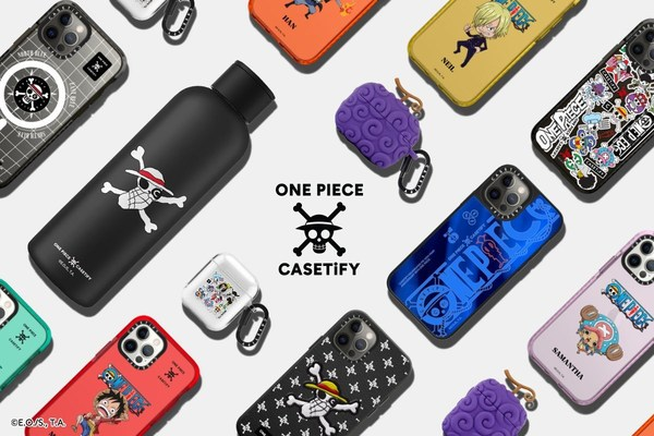 The popular Japanese manga series is bringing Luffy and the rest of the Straw Hat Crew to the global lifestyle brand's best-selling products, just in time for CASETiFY's 10-year anniversary.