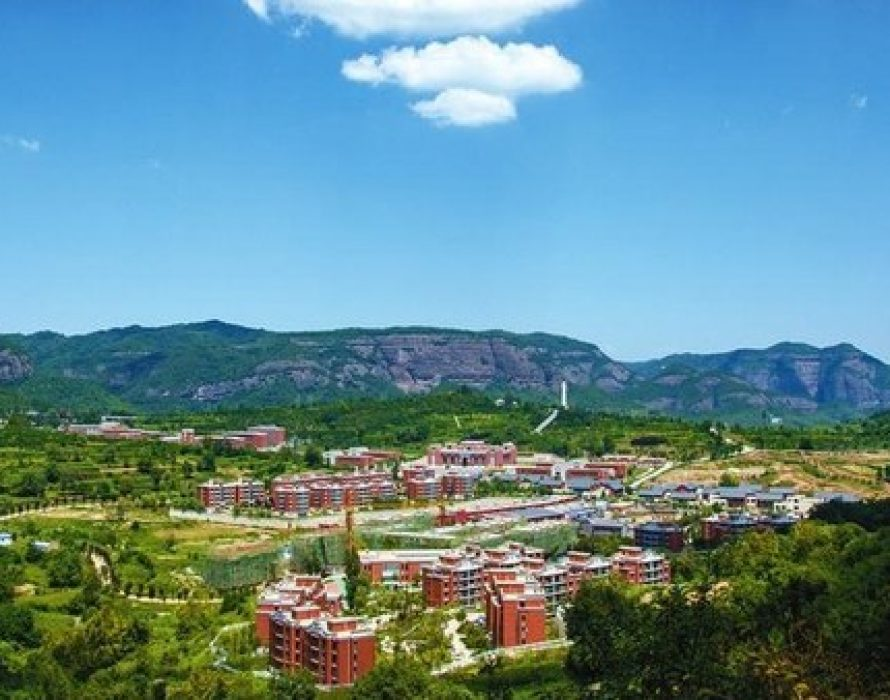 CGTN: Zhaojin Town, the red soil in northwest China