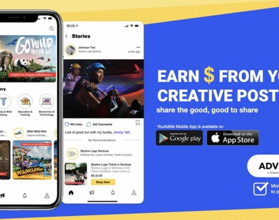 Convert Reviews to Rewards with Singapore-Based Startup YouAdMe's Social Media E-Commerce Platform