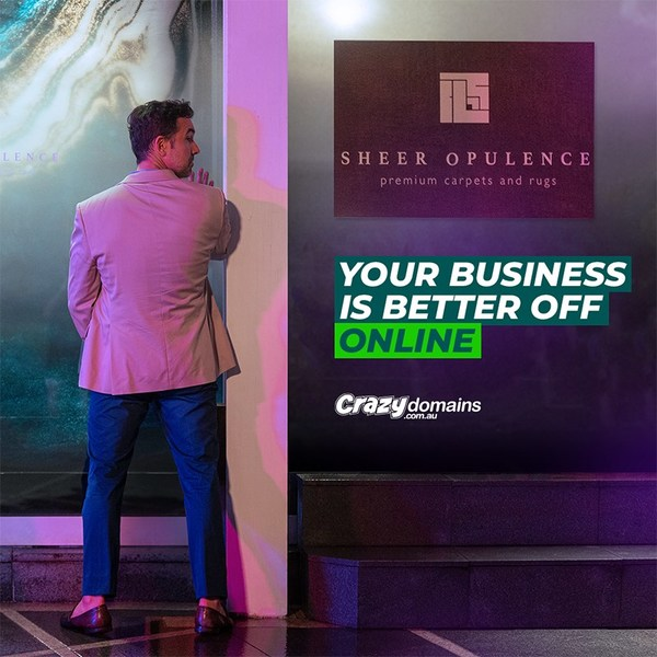 Crazy Domains Australia – Your Business is Better Off Online
