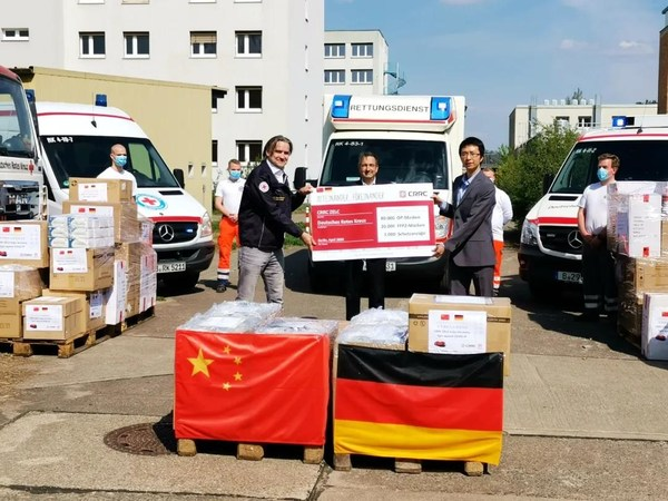CRRC Donates Supplies and Resources Used to Fight the Pandemic to Japan, Malaysia, Ukraine, Germany and Many More.