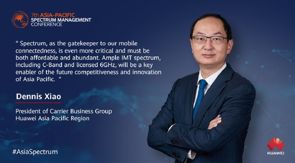 Mr Dennis Xiao is the President of Carrier Business Group, Asia Pacific region of Huawei Technologies. In his current capacity, he is responsible for the company's overall carrier business and strategic management in the Asia Pacific Region.