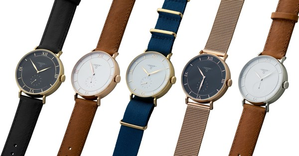 D'HYON WATCHES - 50 Combinations at Your Disposal.