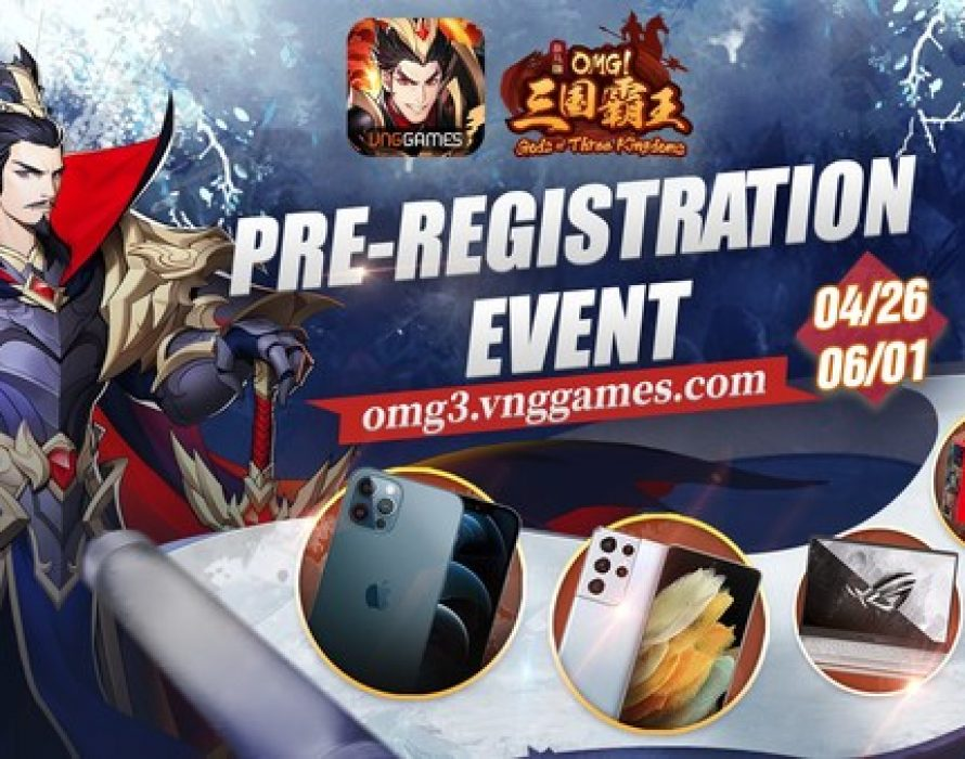 Enter the Three Kingdoms in VNG's OMG! Gods of Three Kingdoms, Launching June 2nd