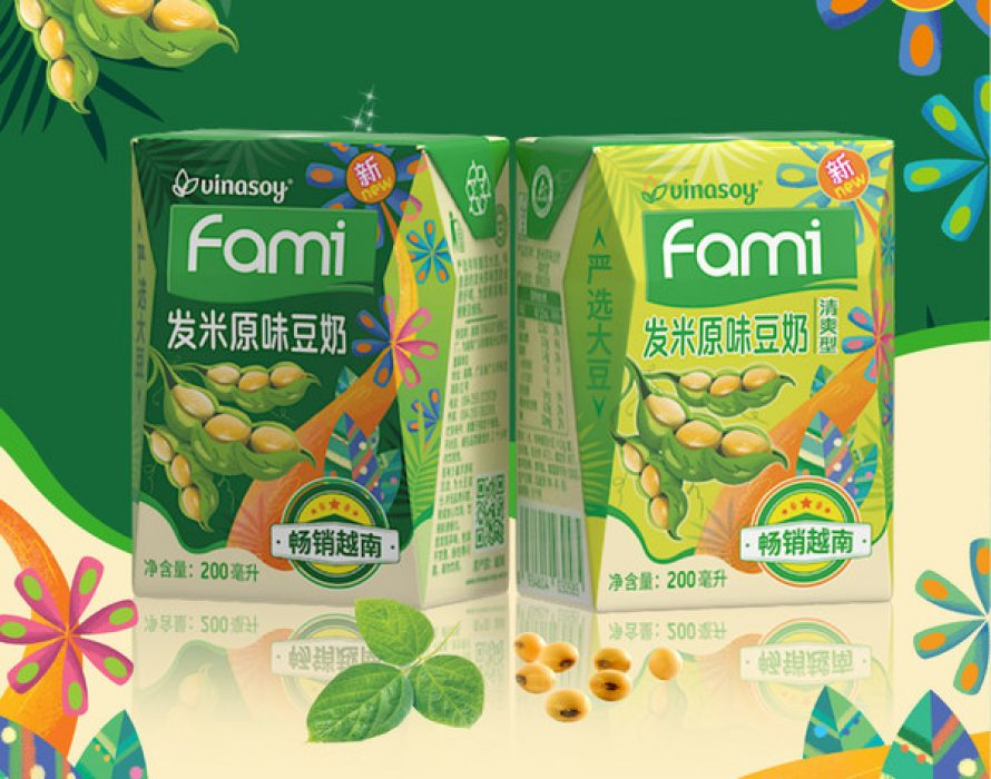 Fami Soymilk Of Vinasoy Has Successfully Conquered The China And Japan Market