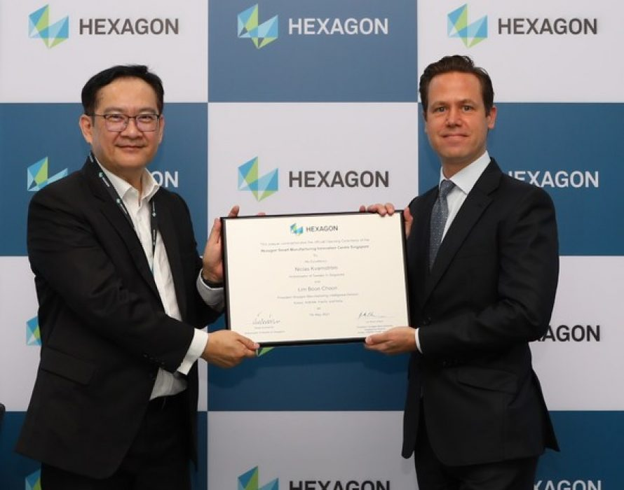 Hexagon Smart Manufacturing Innovation Centre Opens in Singapore
