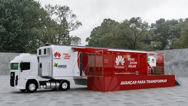 Huawei and ABGD launches first Huawei Solar Road Show in Brazil