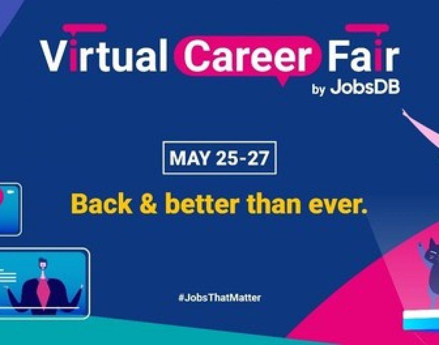 JobsDB re-launches 'Virtual Career Fair'