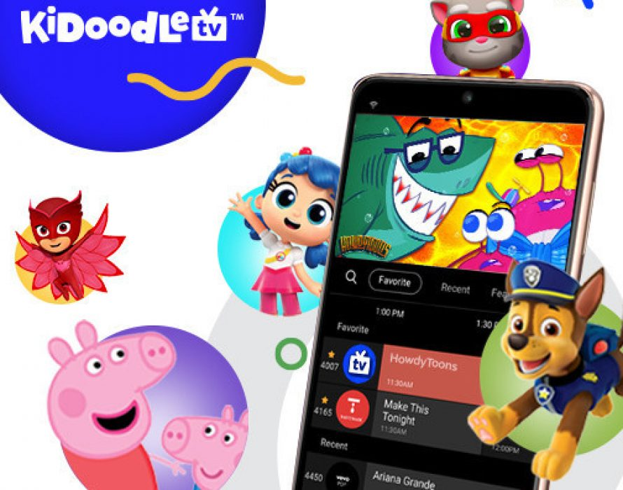 Kidoodle.TV® Expands Linear Footprint with Kids Streaming Services on Mobile with Samsung TV Plus