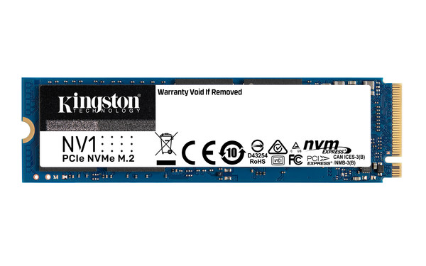 Kingston Launches NV1 NVMe PCIe SSD in Korea