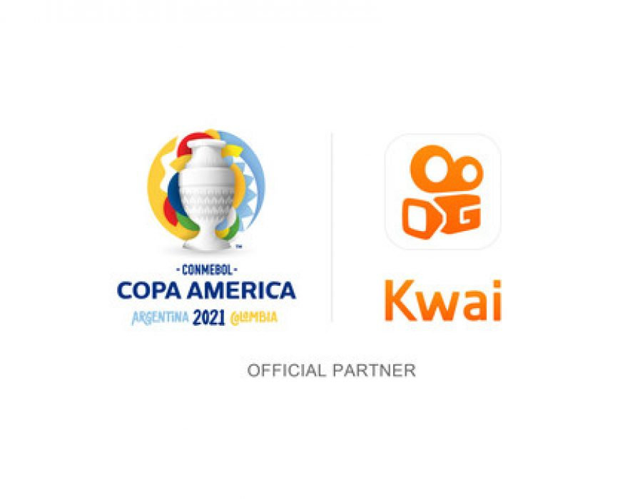 Kwai becomes the first social network in history to sponsor the CONMEBOL America's Cup