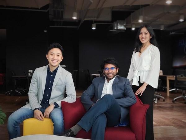 Co-founders of LXE (from left to right): Joshua Goh, Abhilaash Subramaniam, Nadia Razak