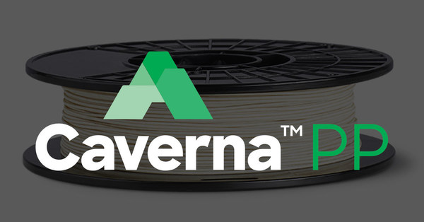 Caverna™ PP is the first in Infinite's line of forthcoming Caverna™ build materials. Each one will be a unique blend of two polymers: a soluble material to be removed through dissolution, and an insoluble build material (in this case, polypropylene) to remain.