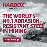 Genuine Hardox only by SSAB