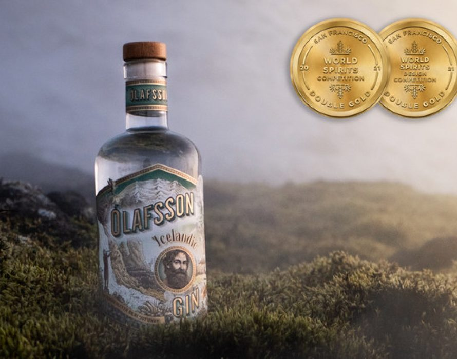 Ólafsson Icelandic Gin Awarded 2 Double Gold Medals At The 2021 San Francisco World Spirits Competition