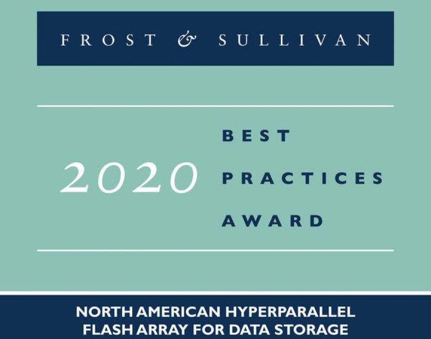Pavilion's Enhancement of Flash Storage Performance Via the Pavilion HyperParallel Data Platform Earns Acclaim from Frost & Sullivan