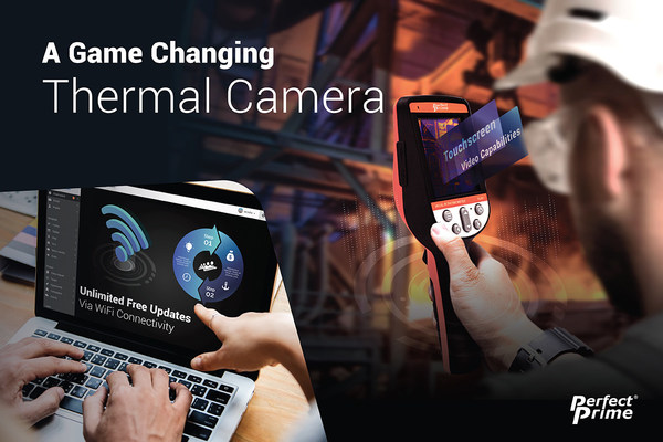 A brand new handheld thermal camera released from PerfectPrime aimed at home and building inspectors. Built on an Android operating system, it enables the users to automatically update the software and firmware.