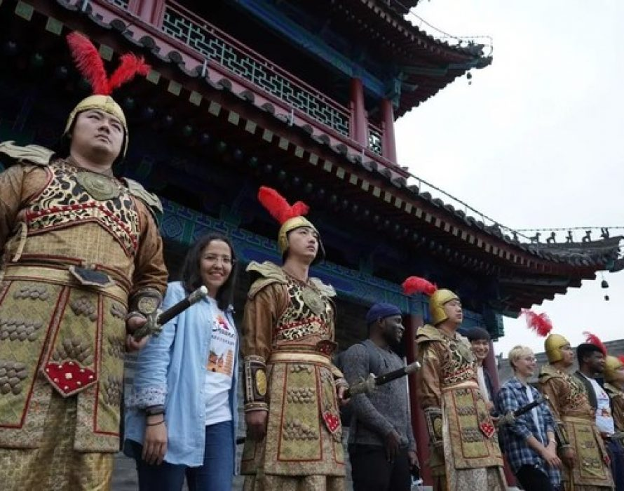 """Shaanxi Provincial Department of Culture and Tourism's Overseas English Social Media Official Account Launches Offline Activity """"Meet Your Shaanxi Dream, Traveling in Shaanxi"""""""