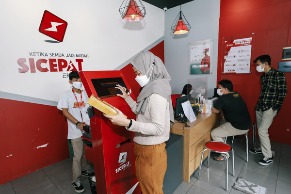 SiCepat Ekspres Outlet has spread more than 1000 across indonesia