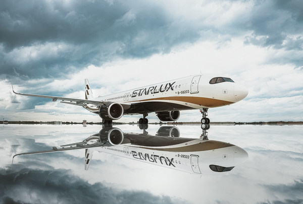 STARLUX Airlines first flight landed in Ho Chi Minh City.