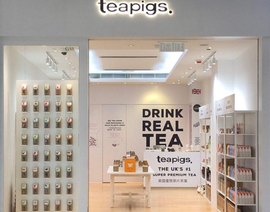 teapigs Plastic Free Pop Up Shop Opens in Olympian City 2