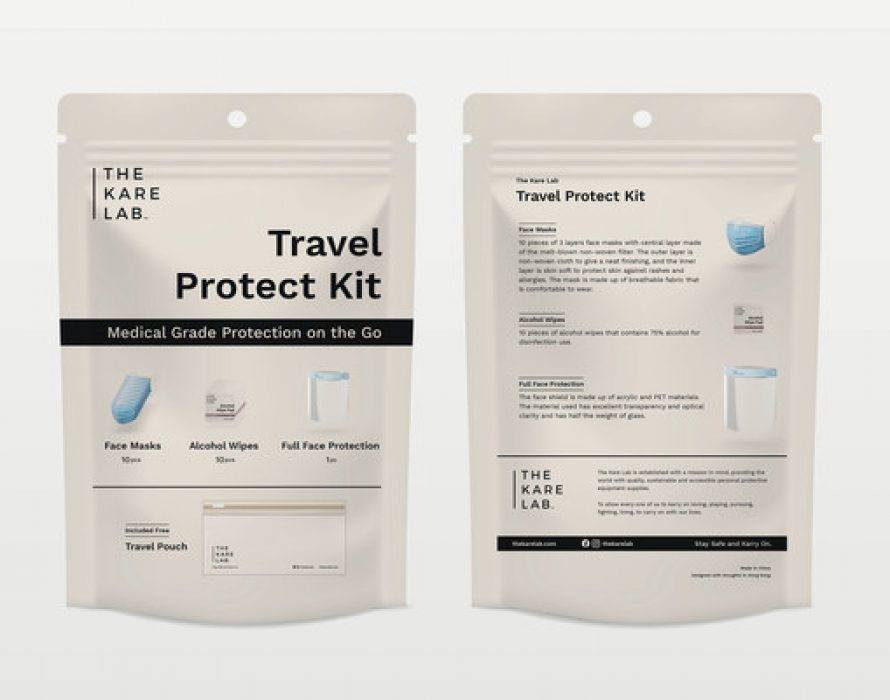 The Kare Lab Launches Travel Protect Kit as Travel under New Normal Resumes in 2021