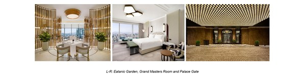 Eatanic Garden, Grand Masters Room and Palace Gate